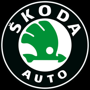 SKODA LOGO PROJECTOT LIGHTS Nr.81(quantity  1 =  2 Logo Film /  2 door lights)