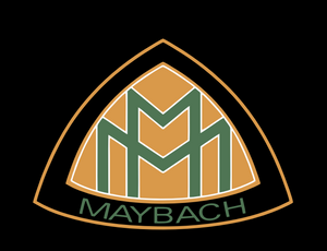 MAYBACH LOGO PROJECTOT LIGHTS Nr.09 (quantity 1 = 2 Logo Films /2 door lights)