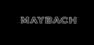 MAYBACH LOGO PROJECTOT LIGHTS Nr.24 (quantity 1 = 2 Logo Films /2 door lights)