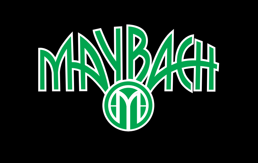 MAYBACH LOGO PROJECTOT LIGHTS Nr.27 (quantity 1 = 2 Logo Films /2 door lights)