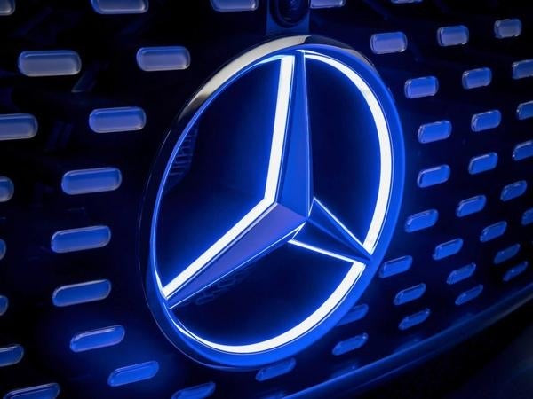 MERCEDES BENZ FRONT GRILL LOGO LED