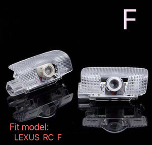 RC  F  LOGO PROJECROTR LIGHTS Nr.01 (quantity 1 = 1 sets/2 door lights)