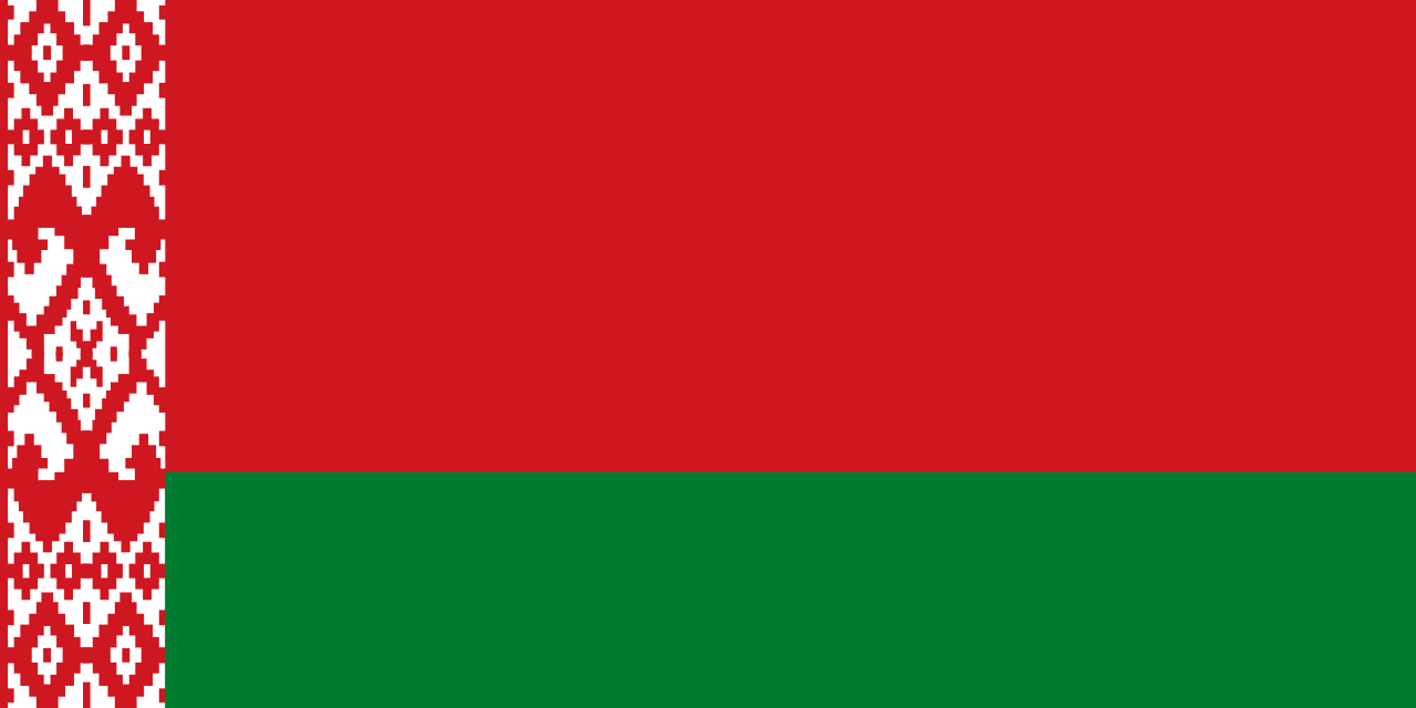 Беларусь  National Flag  logo (quantity 1 = 1 sets / 2 logo film /  Can replace of lights  other logos )