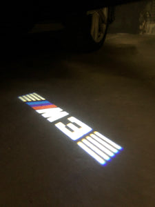 BMW LOGO PROJECTOT LIGHTS Nr.24 (quantity 1 = 1 sets/2 door lights)