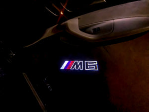 BMW LOGO PROJECTOT LIGHTS Nr.04 (quantity 1 = 1 sets/2 door lights)
