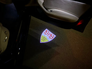 Football CLUB  Logo Nr.259  (quantity 1 = 2 Logo Films /2 door lights)