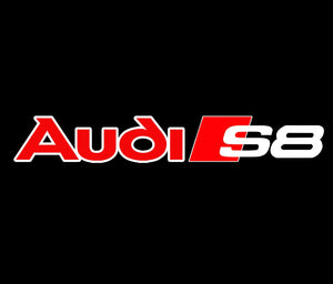 AUDI  LOGO PROJECTOT LIGHTS Nr.94  (quantity 1 = 2 Logo Films /2 door lights)