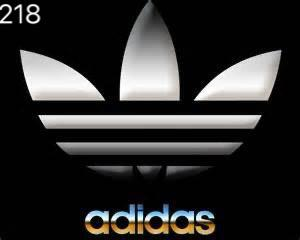 ADIDAS Logo Nr.227  (quantity 1 = 1 sets/2 door lights)