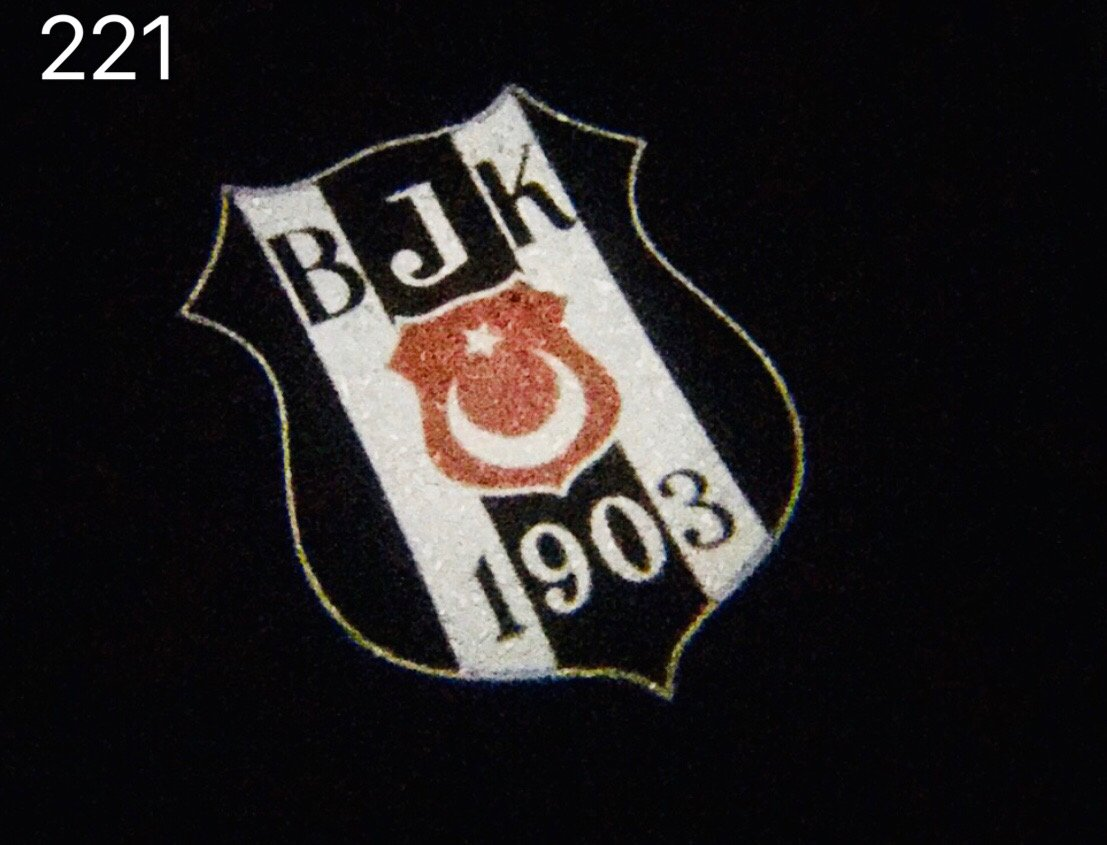 Football CLUB  Logo Nr.225  (quantity 1 = 2 Logo Films )