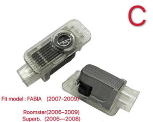 SKODA LOGO PROJECTOT LIGHTS Nr.67 (quantity 1 = 1 sets/2 door lights)