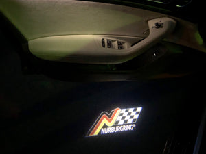 Nürburgring Logo Nr.249  (quantity 1 = 2 Logo Films /2 door lights)