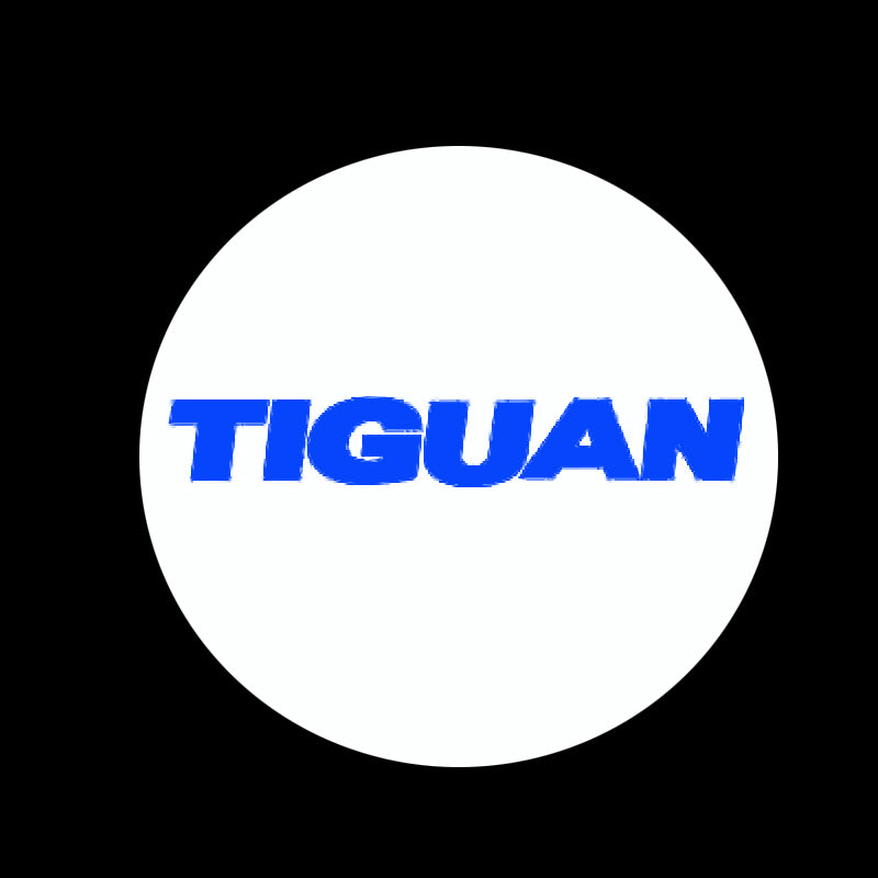 Volkswagen Door lights TIGUAN Logo  Nr.40 ( quantity 1 = 2 Logo Film/ 2 door lights)