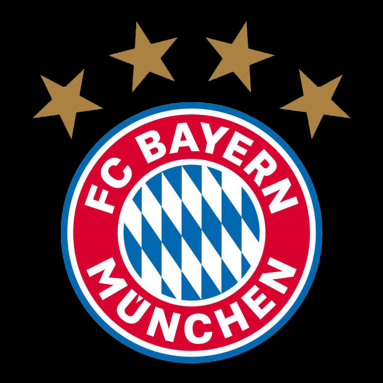 FC BAYERN Logo  Nr.236  (quantity 1 = 2 Logo Films /2 door lights)