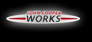 JOHN COOPER WORKS LOGO PROJECROTR LIGHTS Nr.94 (quantity  1 =  2 Logo Film /  2 door lights)