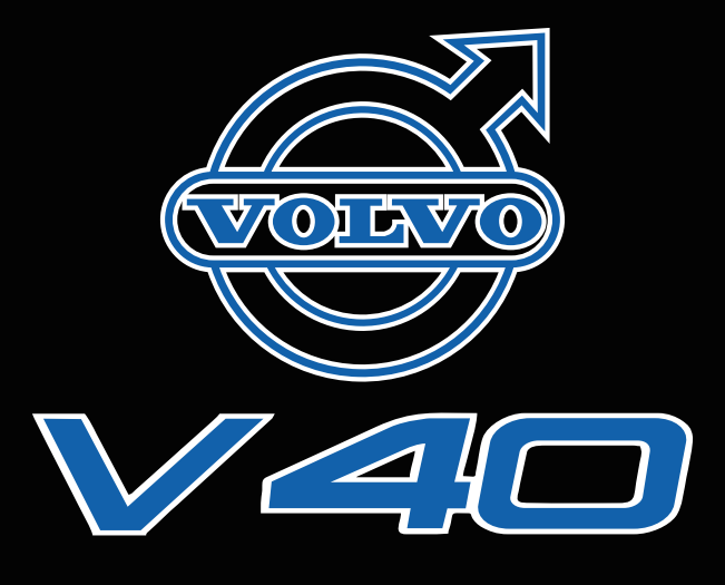 Volvo LOGO PROJECROTR LIGHTS Nr.93 (quantity  1 =  2 Logo Film /  2 door lights)