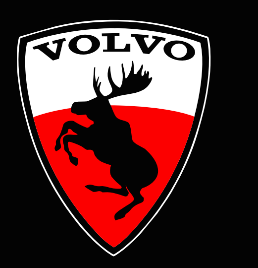 Volvo LOGO PROJECROTR LIGHTS Nr.68 (quantity  1 =  2 Logo Film /  2 door lights)