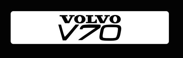 V 70 LOGO PROJECROTR LIGHTS Nr.39 (quantity  1 =  2 Logo Film /  2 door lights)