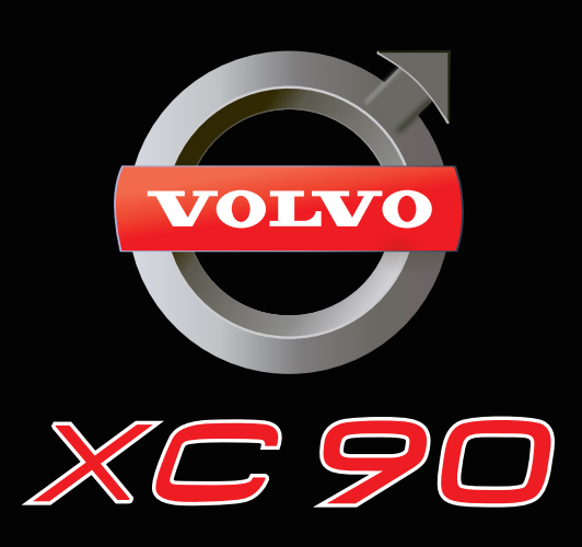 Volvo LOGO PROJECROTR LIGHTS Nr.12  (quantity  1 =  2 Logo Film /  2 door lights)