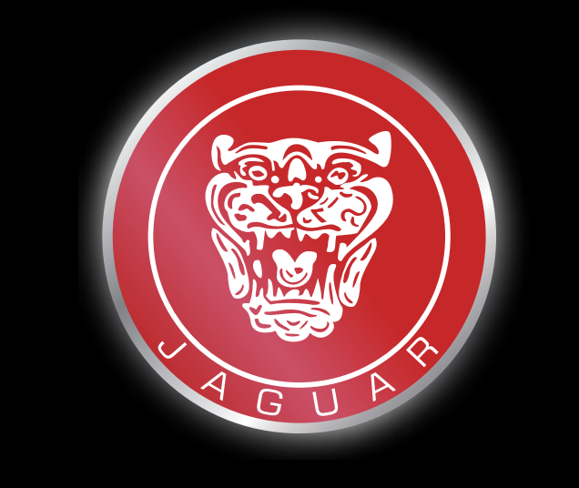 JAGUAR LOGO PROJECROTR LIGHTS Nr.17 (quantity 1 = 1 sets/2 door lights)