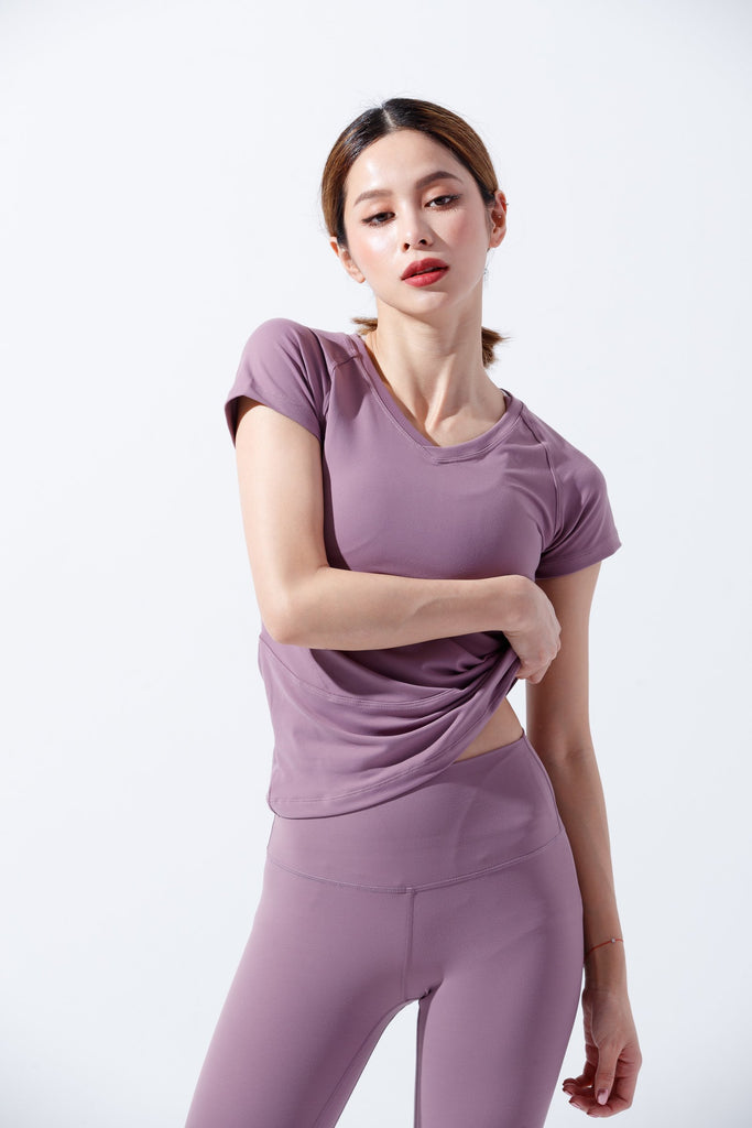 Cozy Sports T-shirt-Lavender