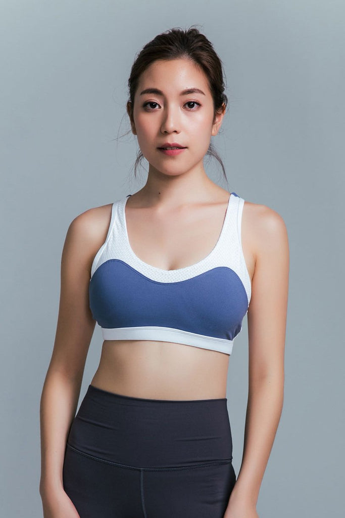 Medium-Support Mix Sports Bra - Mix - PrettyAim Thailand