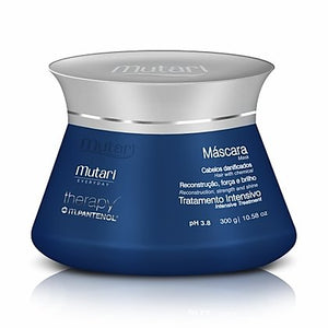 Therapy Panthenol Conditioner Mask Mutari 300g /10.58oz - Reconstruction and Hydration Line - For dry or chemical hair.