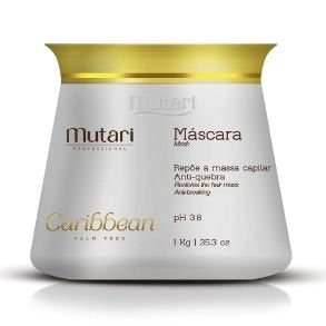 Caribbean Conditioner / Mask 1kg - 35.3oz - Strand repair line. Replenish hair mass, ideal for after bleaching and keratin.