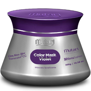 COLOR MASK VIOLET - Specially developed to neutralize the golden reflections of the threads