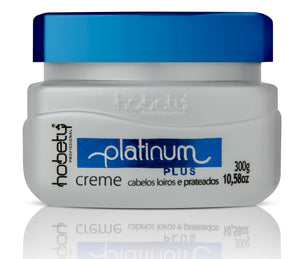 Platinum Purple Conditioner Mask  - 300g / 10.58oz - For blonde and gray hair. Neutralizes yellow and orange tones.