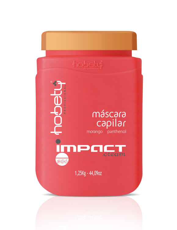 Impact Cream Conditioner / Mask - 1,250g - 44.09 oz - For hair with keratins, chemical processes or very dry.