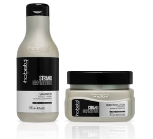 Strand Definition - Shampoo 300ml / 10.58fl oz + Mask 300g / 10.58oz - For hair with oily roots and dry ends. Indicated for hair with extensions and prostheses.