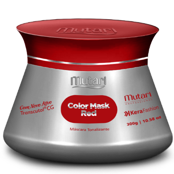 COLOR MASK RED -  Color Conditioners 300g / 10.58oz - Intensifies, tones and revives the color of the hair.