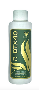 Hair Volume Reducer R- BTX40 - (Sizes: Small - 4floz; Medium - 17floz or Large - 33floz) - Result: Hair with shine, nutrition, repair, softness and frizz control.