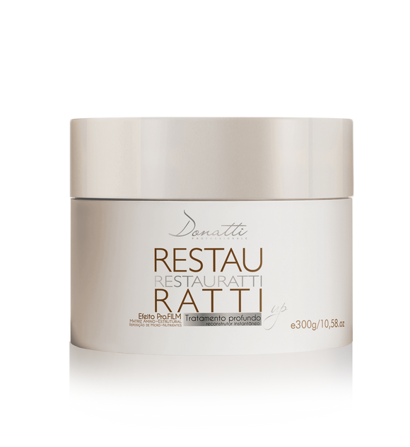 Restauratti Mask 300g/10.58oz - Repair Damaged hair by bleaching or coloring. Returns strength and resistance to hair.