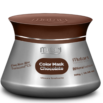 COLOR MASK CHOCOLATE (Dark Brown) - Color Conditioners 300g / 10.58oz - Intensifies, tones and revives the color of the hair.