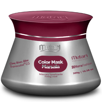 COLOR MASK MARSALA -  Color Conditioners 300g / 10.58oz - Intensifies, tones and revives the color of the hair.