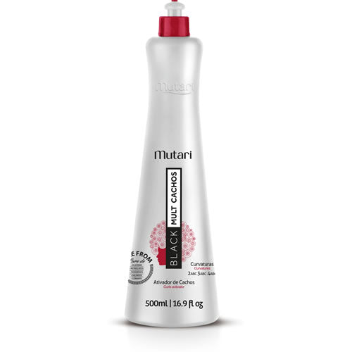 Curly hair line / Curly Activator 500ml / 17oz - Model and discipline curls, control reduced volume and frizz.