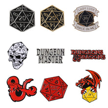 Load image into Gallery viewer, Dungeons & Dragons Pin Collection