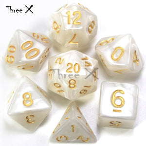 7 Set Polyhedral Dice