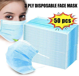 50 disposable face mask