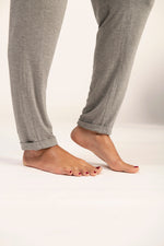 Bamboo joggers in heather grey