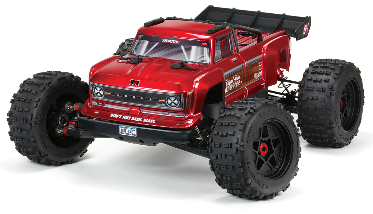 ARA5810 OUTCAST 4X4 8S BLX BRUSHLESS 1/5TH 4WD STUNT TRUCK