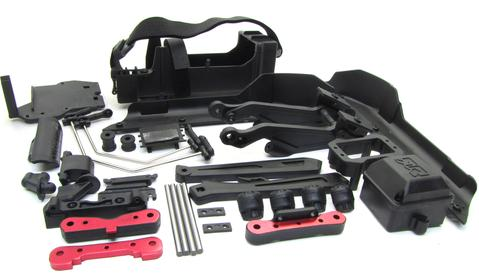 ARRMA TYPHON 6S BLX COMPONENT KIT - TRAYS, MOUNTS, STRAPS, BUMPER, etc.
