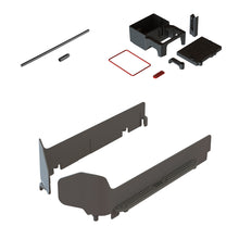Load image into Gallery viewer, 1 x Left Side Guar - 1 x Right Side Guard *Reference Part - #AR320463 (ARAC7303) MT SIDE GUARD SET 1 x Lower Receiver Box with Integrated Servo Mount - 1 x Receiver Box Lid - 1 x Motor Wire Guide - 1 x Lid Seal - 1 x Servo and ESC Wire Seal *Reference Part - #AR320400 (ARAC8200) RADIO BOX SET 1 x Antenna 60mm pipe - 1 x End cap *Reference Part - #AR390001 (ARAC3000) ANTENNA PIPE SET