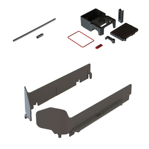 1 x Left Side Guar - 1 x Right Side Guard *Reference Part - #AR320463 (ARAC7303) MT SIDE GUARD SET 1 x Lower Receiver Box with Integrated Servo Mount - 1 x Receiver Box Lid - 1 x Motor Wire Guide - 1 x Lid Seal - 1 x Servo and ESC Wire Seal *Reference Part - #AR320400 (ARAC8200) RADIO BOX SET 1 x Antenna 60mm pipe - 1 x End cap *Reference Part - #AR390001 (ARAC3000) ANTENNA PIPE SET