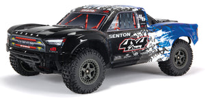 1 x SENTON 4X4 BLX Painted Decaled Trimmed Body (Blue) *Refference Part: #ARA402311 (ARA402311)