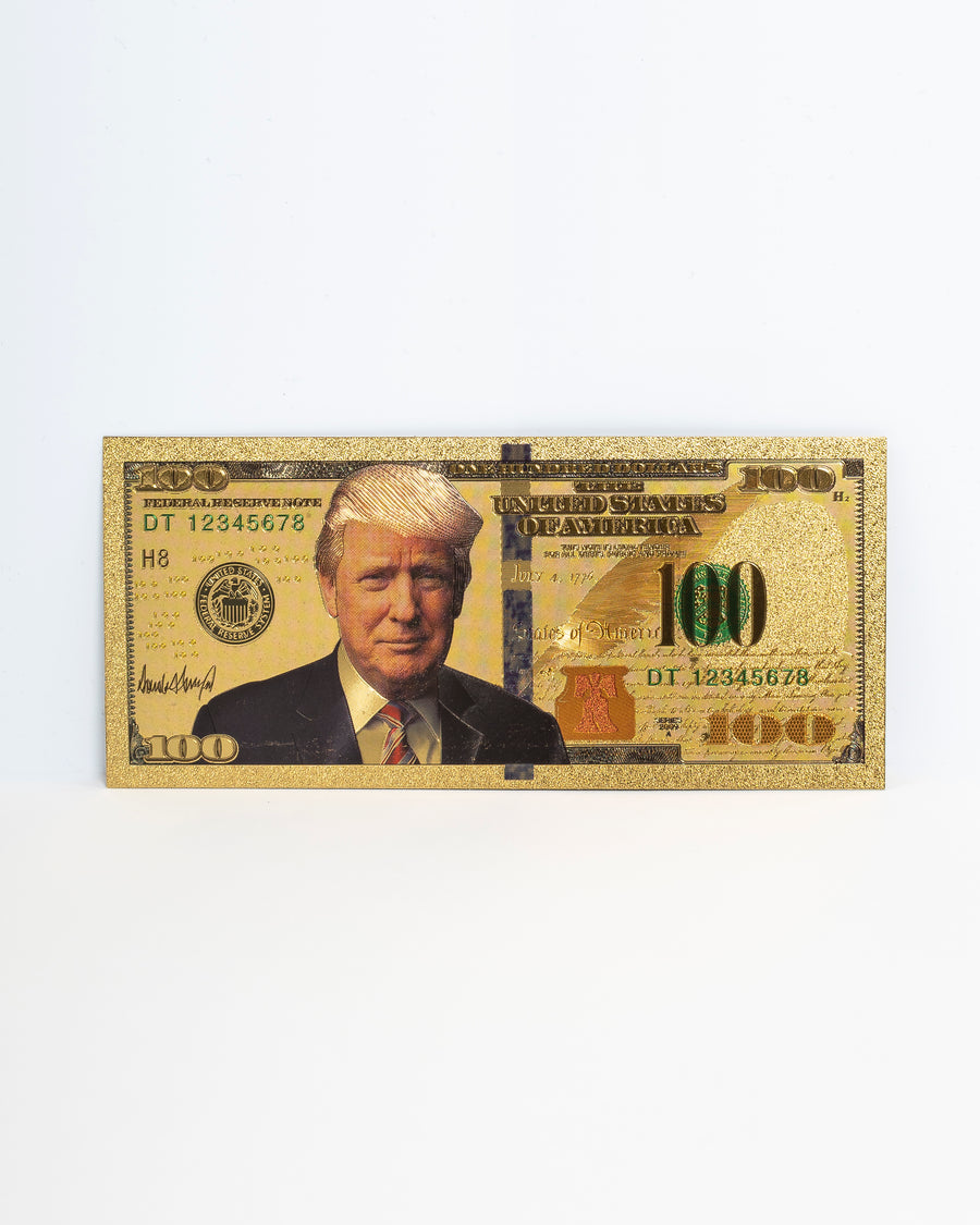 Gold $100 Bill (25 Bills)