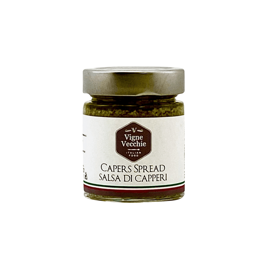 Capers, Almond and Grana Cheese Spread (4.6 oz) - vvjustitalian