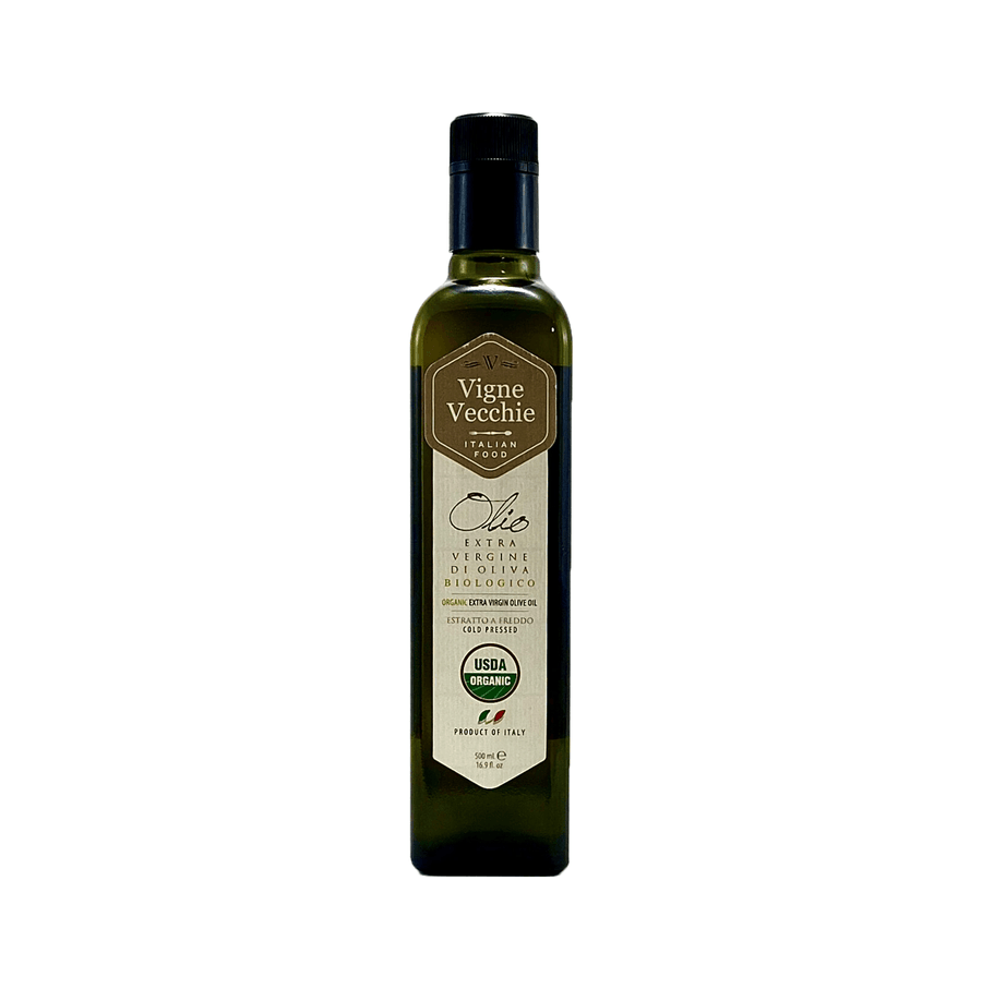 Organic Extra Virgin Olive Oil (16.91 fl. oz) - vvjustitalian