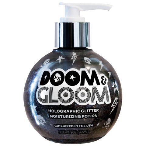 Doom and Gloom Holographic Glitter Moisturizing Potion